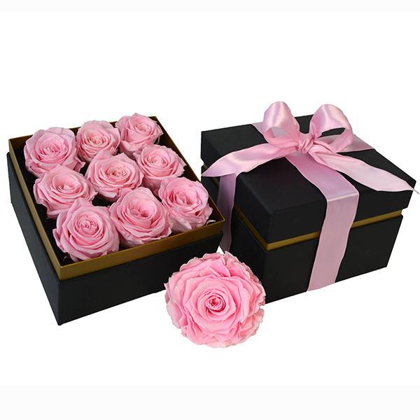 TLS-03 Подарочная коробка с розами Делюкс